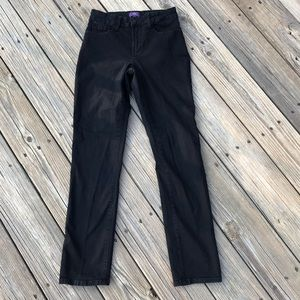 NYDJ not your daughters jeans size 4 black skinny